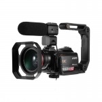 Share To Ordro HDR-AC5 4K UHD Zoom 12X FHD 24MP WiFi IPS Touch Screen Digtal Optical DV Digital Video Camera Camcorder